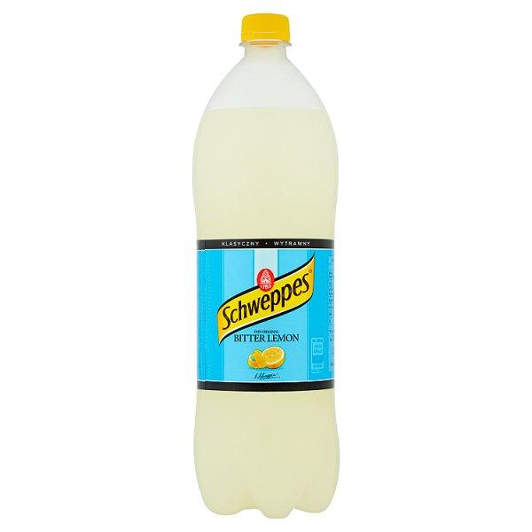Napój gazowany Schweppes bitter lemon