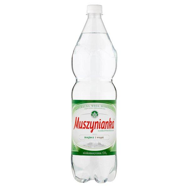 Woda Muszynianka niegazowana 1,5l