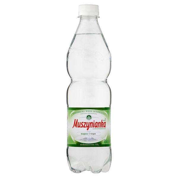 Woda Muszynianka mini niegazowana 0,6l