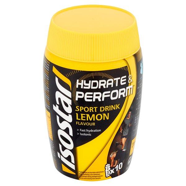 Koncentrat Isostar napój izotoniczny cytrynowy