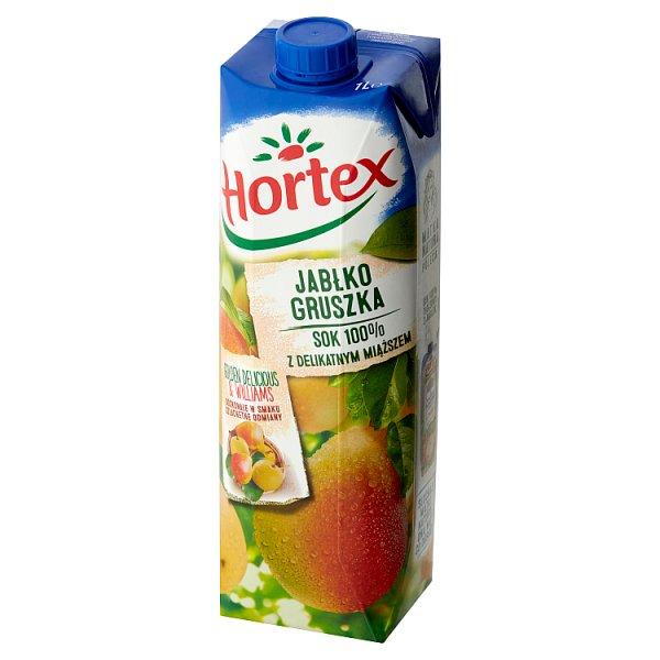 Sok hortex jabłko gruszka 100%