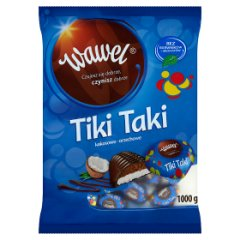 Praliny Tiki Taki kokosowo-orzechowe Wawel