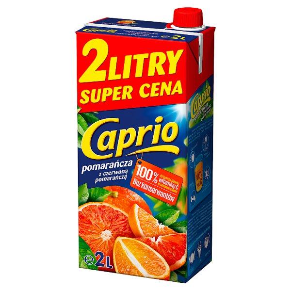 Napój Caprio czerwone pomarańcze