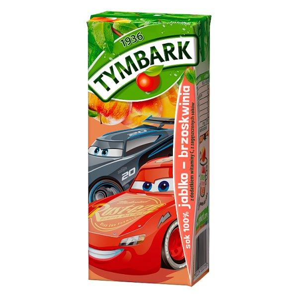 Sok Tymbark jabłko-brzoskwinia 100% /0,2l