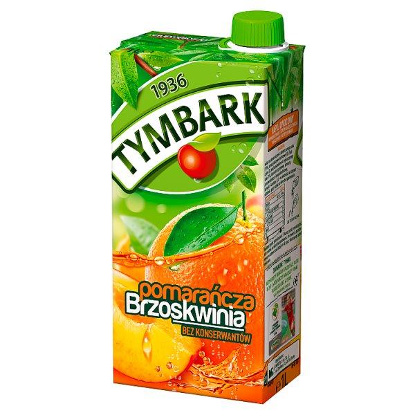 Napój Tymbark pomarańcza-brzoskwinia