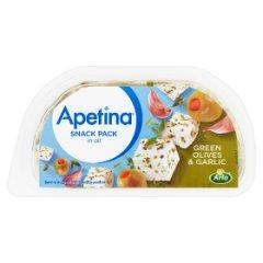 Apetina Snack z zielonymi oliwkami i czosnkiem