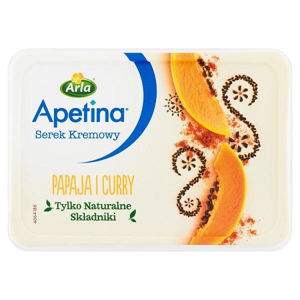 Arla Apetina Serek kremowy papaja i curry 125 g