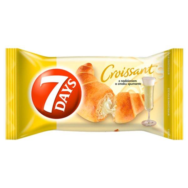 7 Days Croissant z nadzieniem o smaku spumante