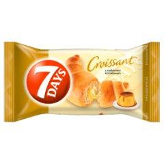 Croissant 7 days z nadzieniem karmelowym