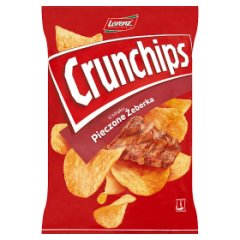 Chipsy crunchips pieczone żeberka