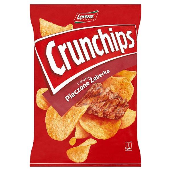 Chipsy crunchips pieczone żeberka