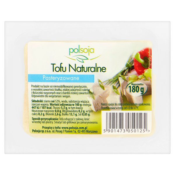 Tofu naturalne /180g