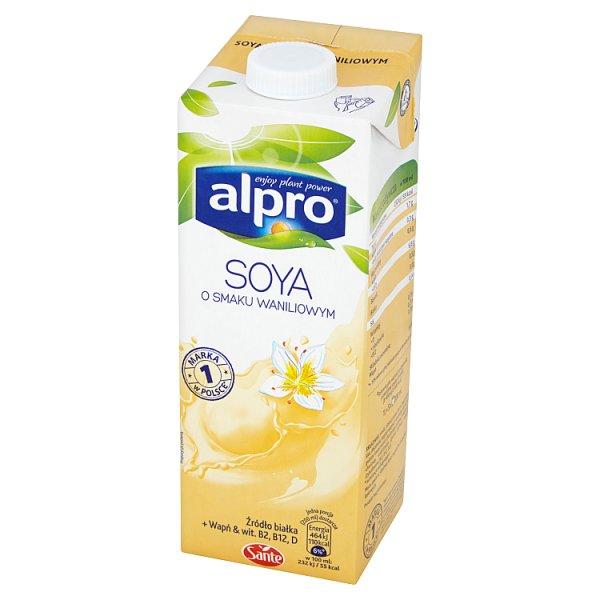 Napój Alpro Soya sojowy o smaku waniliowym