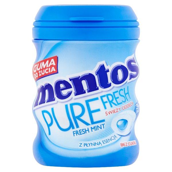Mentos Pure Fresh Fresh Mint Guma do żucia bez cukru 60 g (30 sztuk)