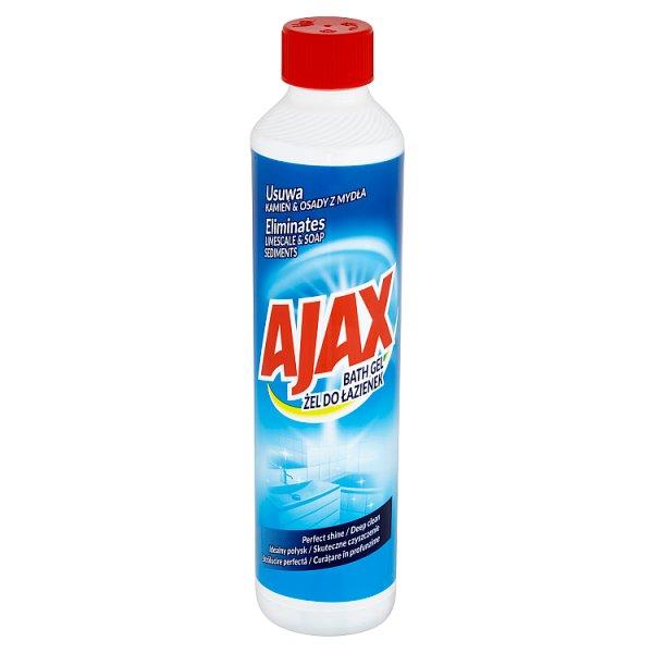 żel Ajax Do łazienek 1 Szt0500 Litr Ajax Supermarket