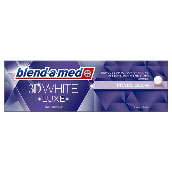 Pasta Blend-a-Med 3D White Pearl Royal Spa