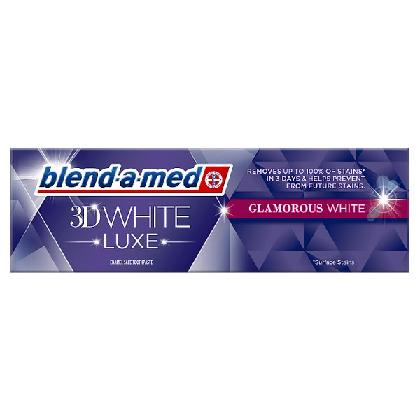 Pasta Blend-a-Med 3D White Luxe Glamour