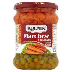 Marchew Rolnik z groszkiem