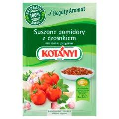 Suszone pomidory z czosnkiem