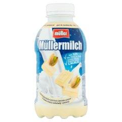 Napój Mullermilk biała czekolada-pistacja