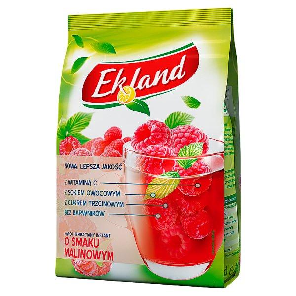 Ekland Napój herbaciany instant o smaku malinowym 300 g