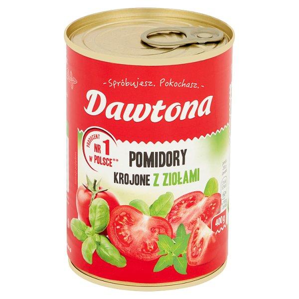 Pomidory Dawtona z ziołami