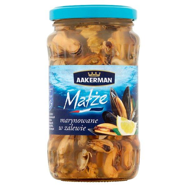 Aakerman Małże marynowane w zalewie 350 g