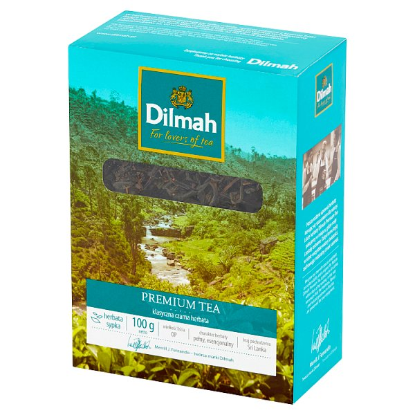 Herbata Dilmah Premium Tea ceylon pekoe