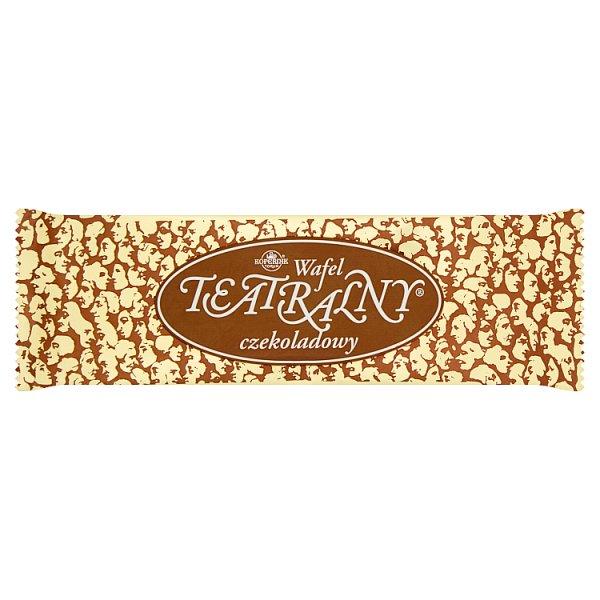 Wafel Teatralny czekoladowy