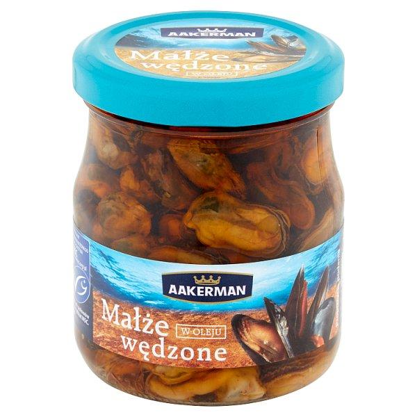 Aakerman Małże wędzone w oleju 200 g