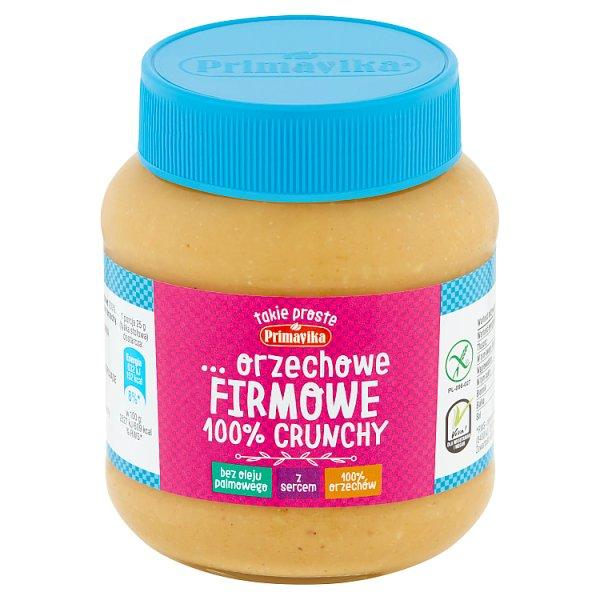 Masło orzechowe firmowe 100% crunchy