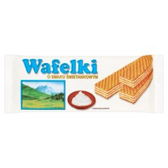 Wafle śmietankowe SKAWA/80g