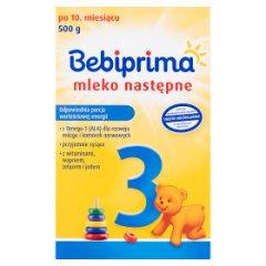 Mleko następne bebiprima 3