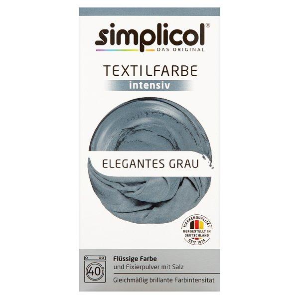 Simplicol Barwnik do tkanin intensywny elegancki szary