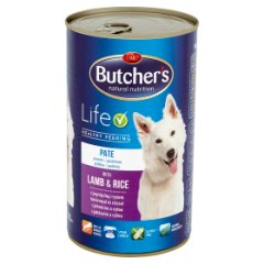 Butcher's pasztet w galarecie z jagnięciną i ryżem dla psa