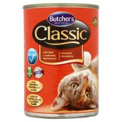 Karma Butcher's classic kawałki w galaretce z wołowiną dla kota