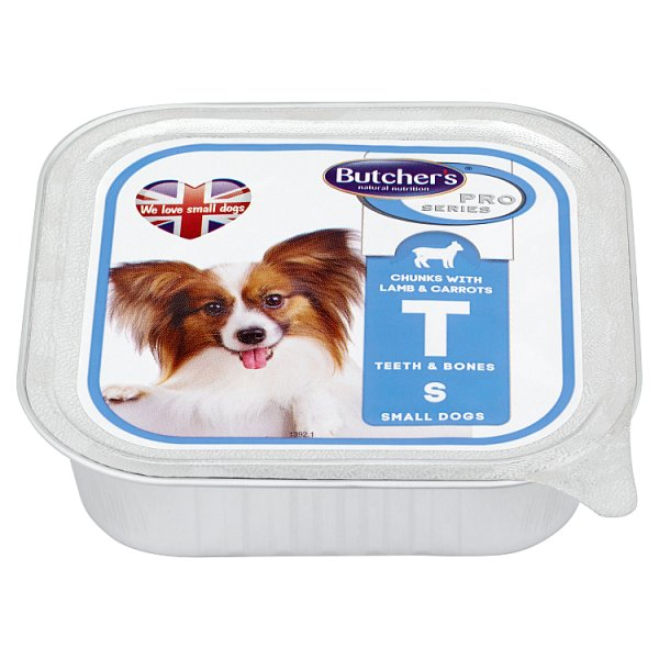 Butcher's Pro Series Karma dla psów dorosłych kawałki w galaretce z jagnięciną i marchewką 150 g