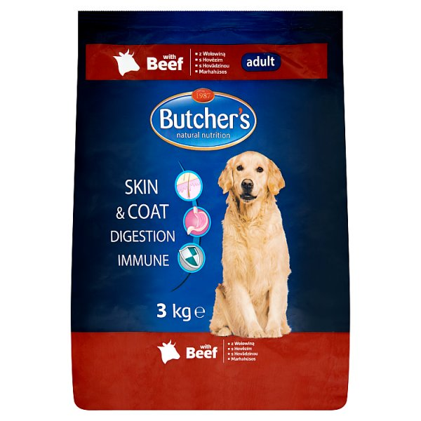 Butcher's karma sucha z wołowiną dla psa