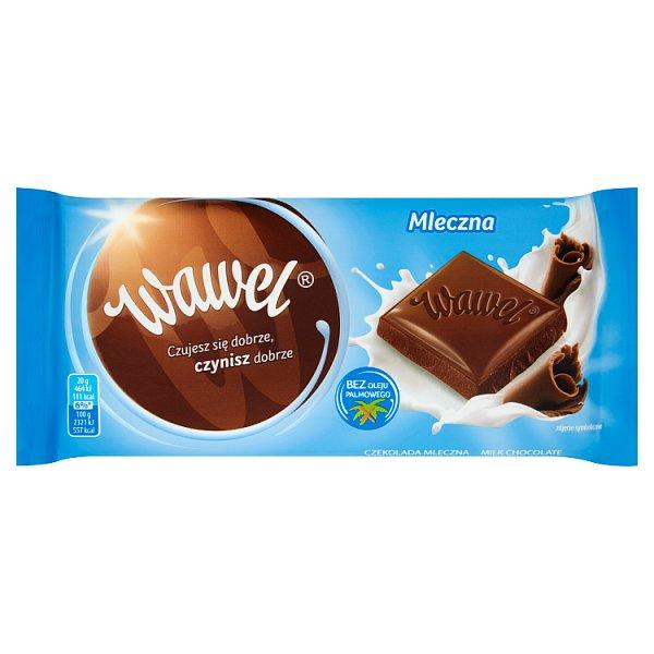 Wawel Mleczna czekolada 100 g