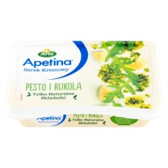 Apetina Serek Kremowy Pesto i Rukola
