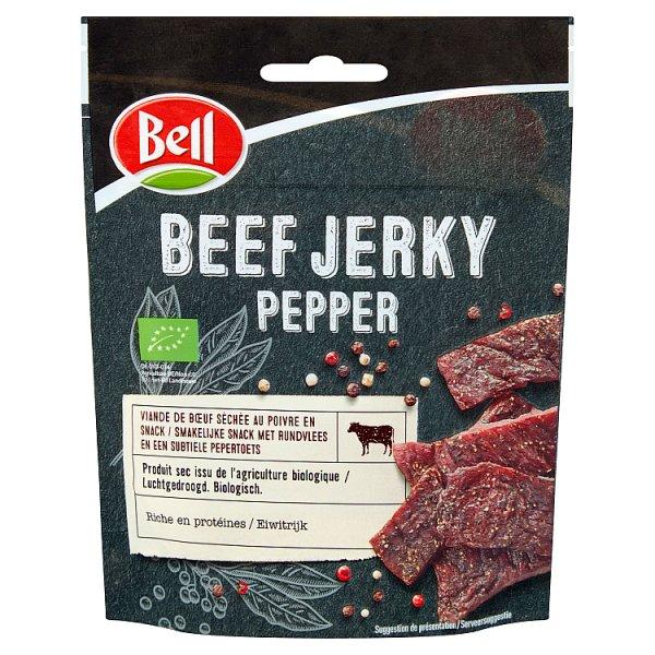 Beef jerkey pepper