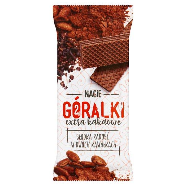 Wafelek goralki extra bez polewy extra kakao
