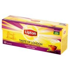 Lipton Taste of London Herbata czarna aromatyzowana 50 g (25 torebek)
