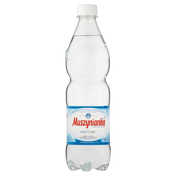 Woda Muszynianka mini gazowana 0,6l