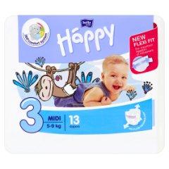Pieluszki Bella Baby Happy 3 Midi od 5 do 9 kg