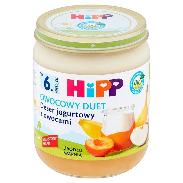Deser Hipp jogurtowy z owocami