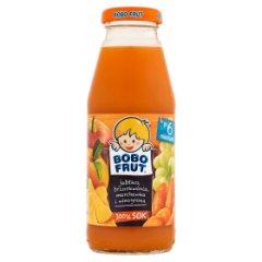 Sok Bobo Frut Junior  jabłko, marchew, brzoskwinia