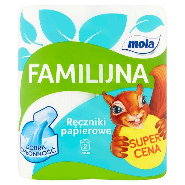Mola Familijna Ręczniki papierowe 2 rolki
