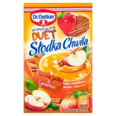 Kisiel dr.oetker słodka chwila o smaku pieczone jabłko cynamon/31,5g