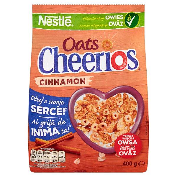 Płatki Nestle Cheerios Oats z cynamonem